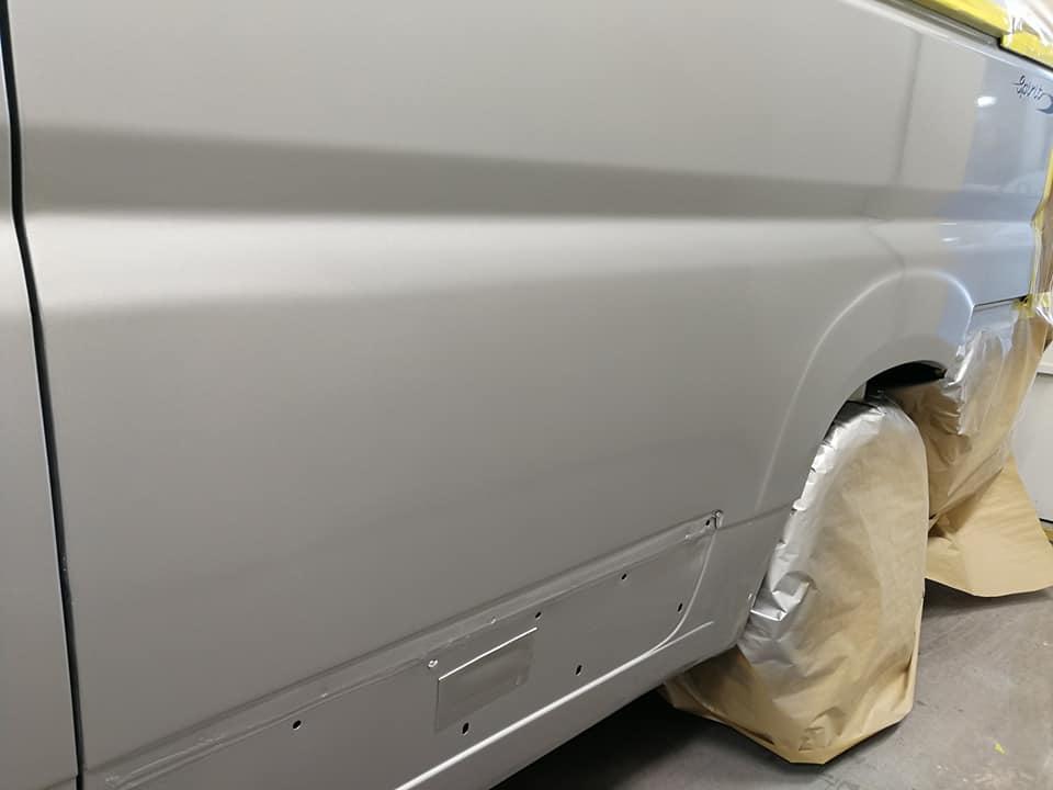 campervan paint repair
