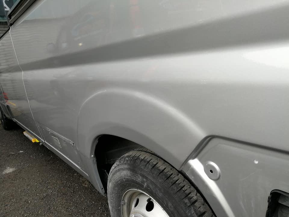 campervan paint scratch repair