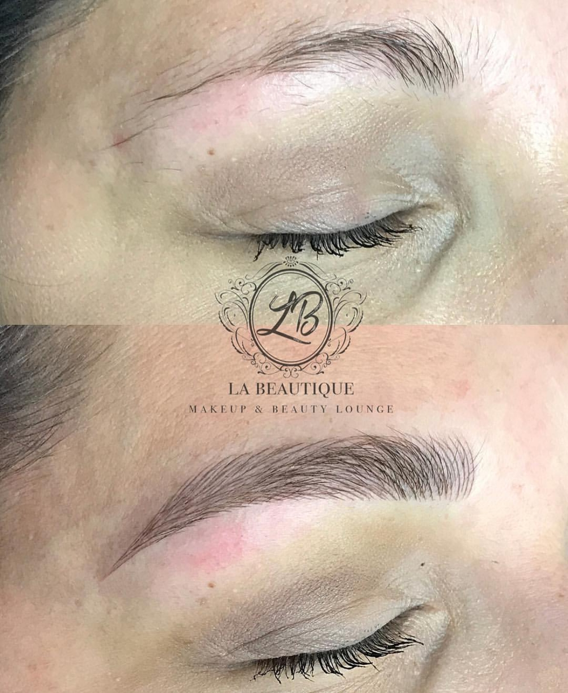Microblading is a semi permanent tattoo that looks like real hair! Click here to learn more!