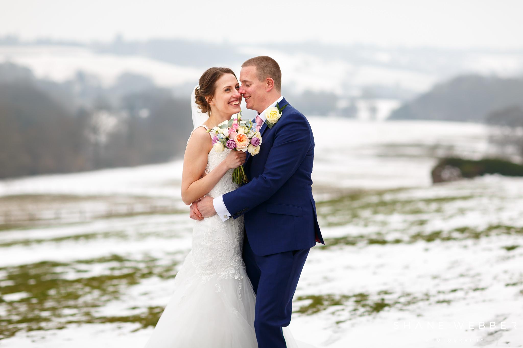 Winter wedding flowers Woodhall hotel and spa Florist harrogate