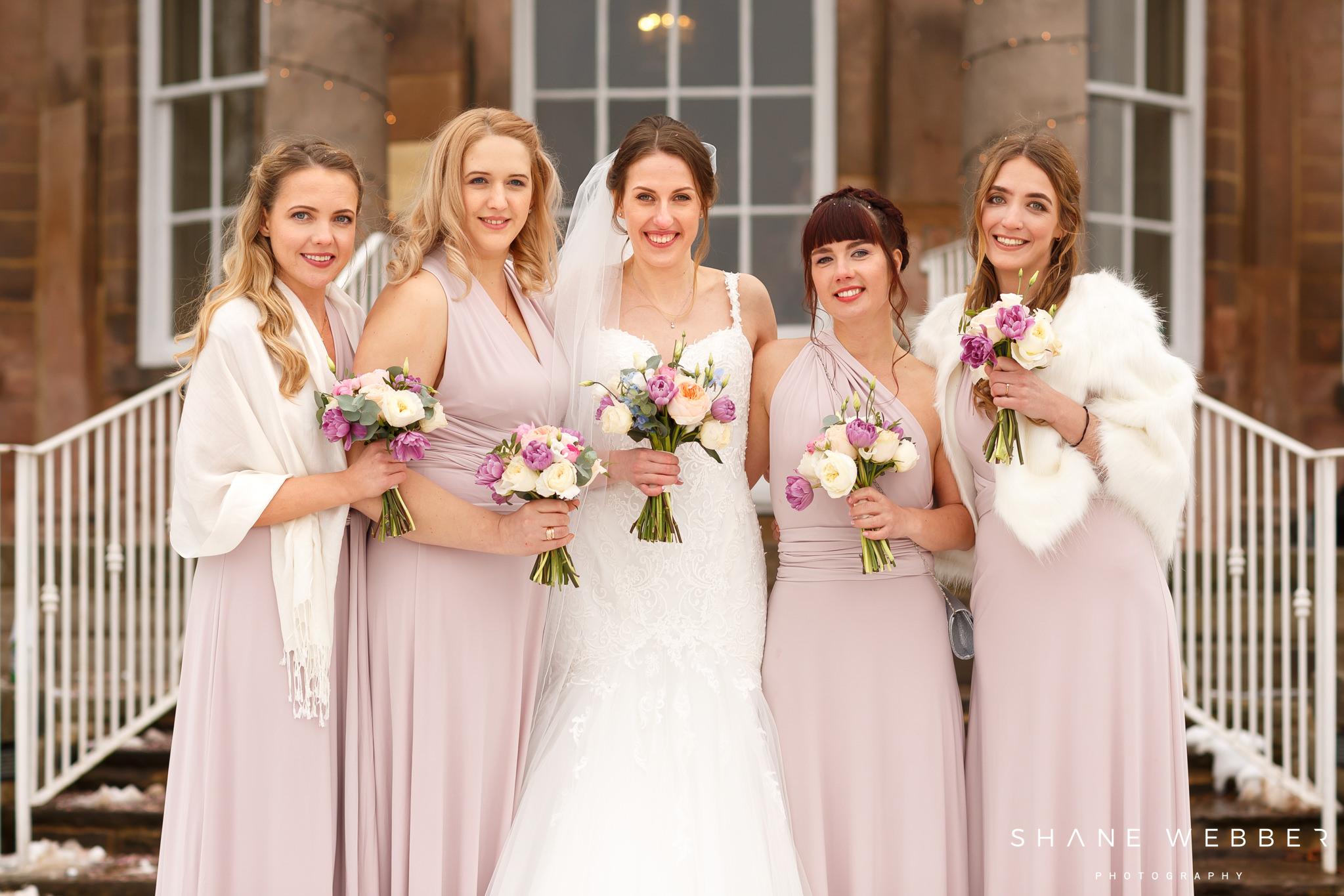 Pastel wedding flowers harrogate