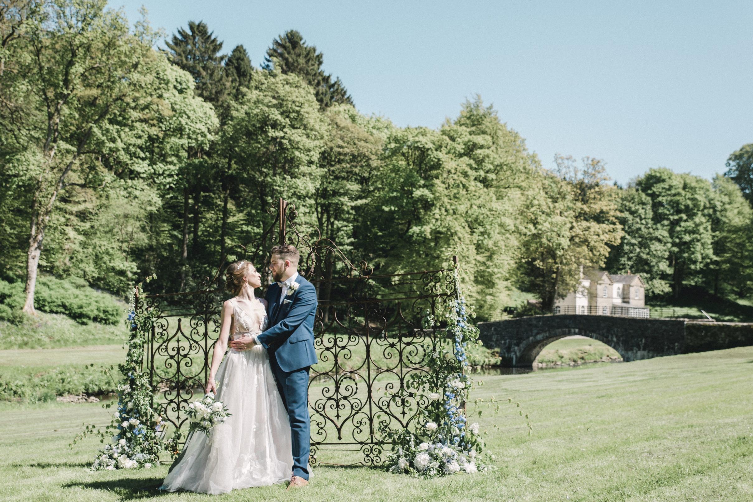 Gisburn Park Wedding Flowers Harrogate