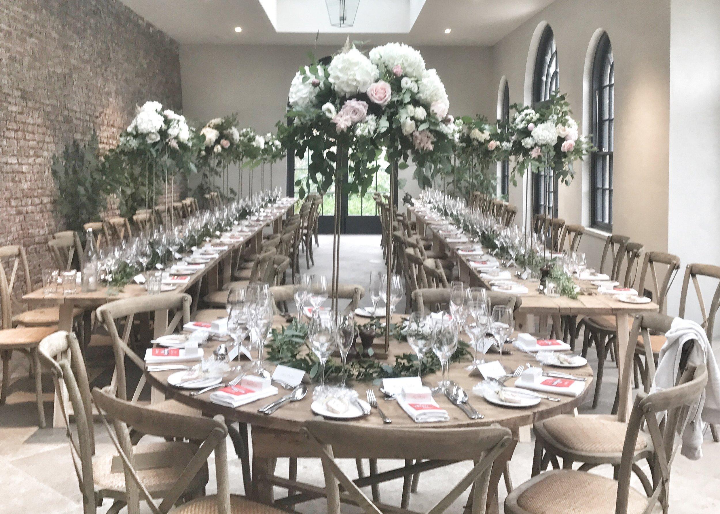 Middletonlodge wedding flowers river and rose