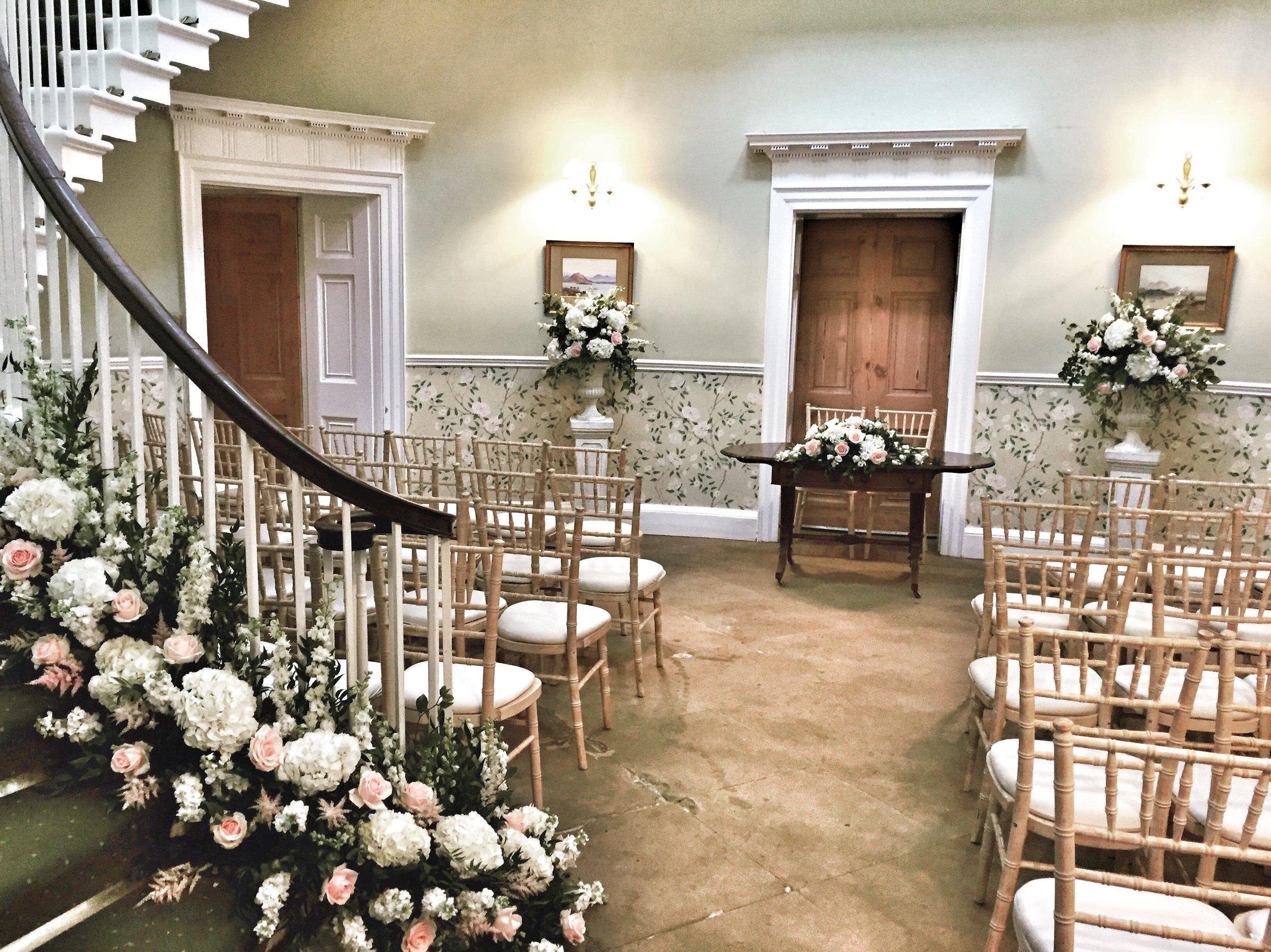Middleton Lodge Wedding Flowers