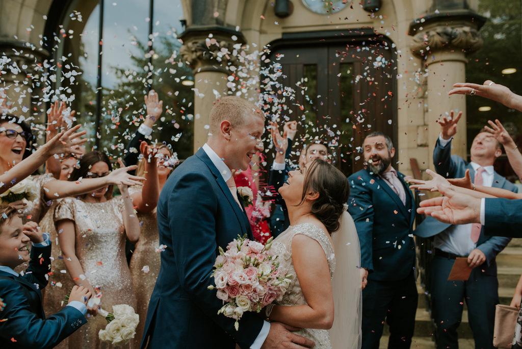 Pink Brides Bouquet Harrogate
