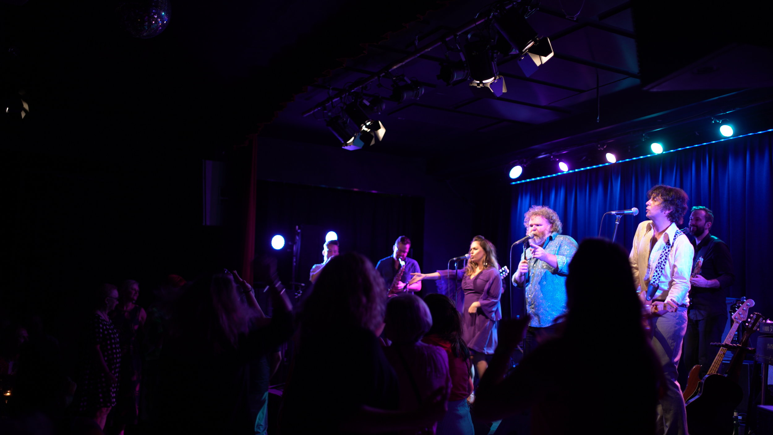 Raleigh and the Moreland City Soul Revue at the Caravan Club 2019. Photo by Ursula Woods