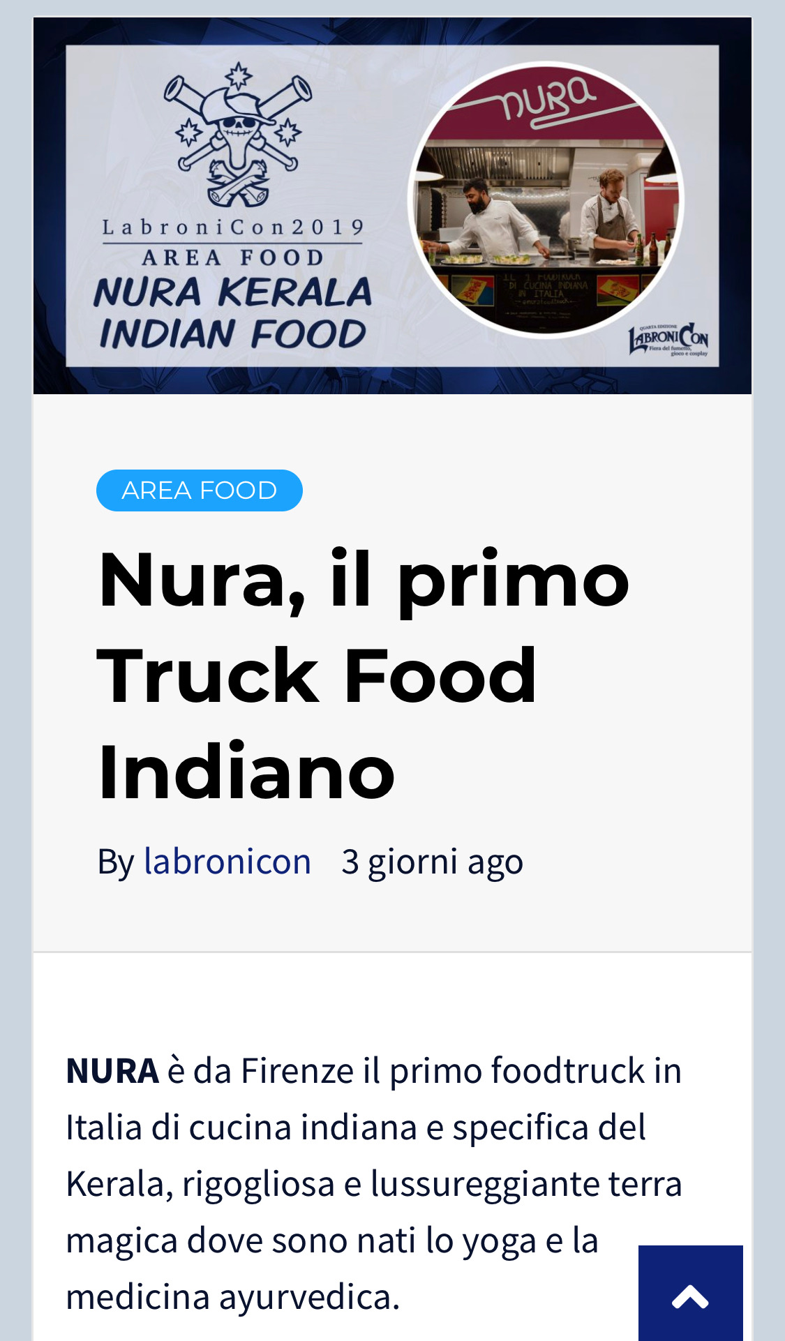 NUAR Kerala Indian FOOD LIVORNO