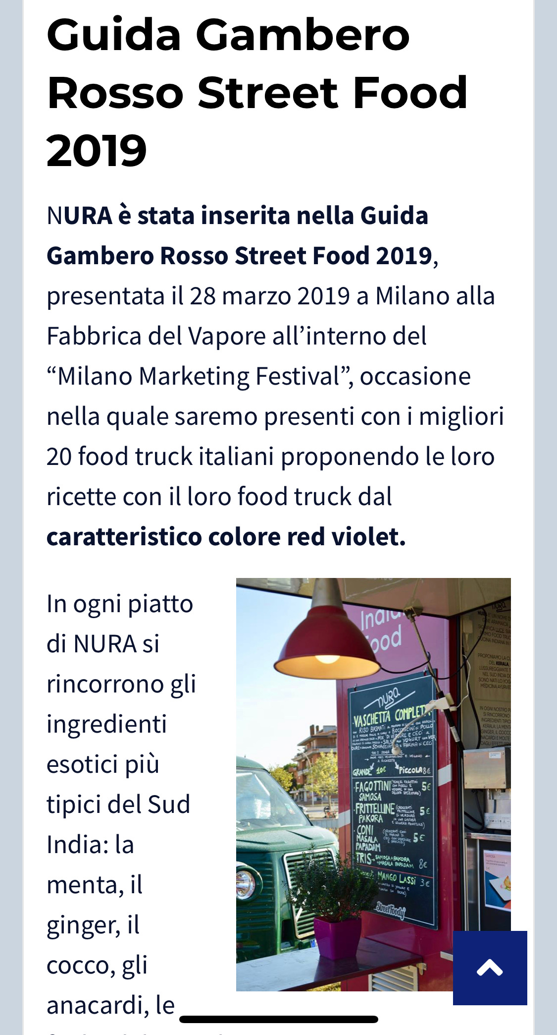 FOOD TRUCK INDIAN NURA LIVORNO
