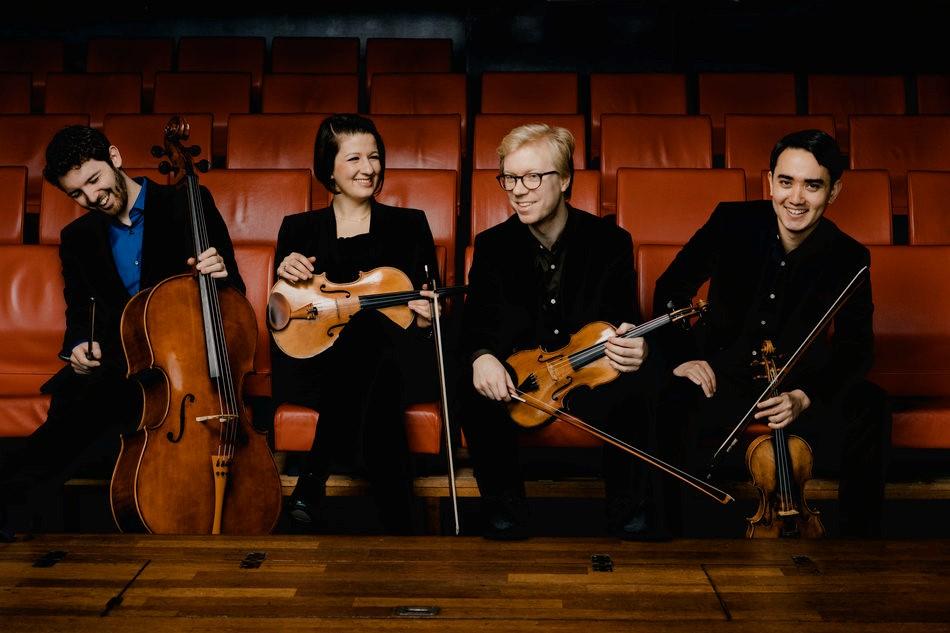Marmen Quartet, Photo credit: Marco Borggreve