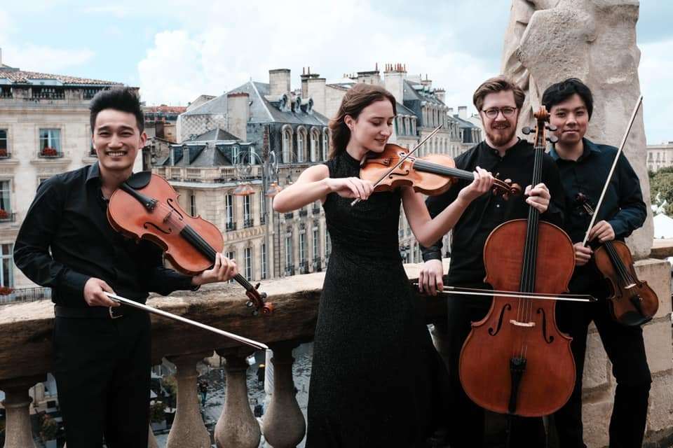 Simply Quartet, Photo credit: Simon Buchou