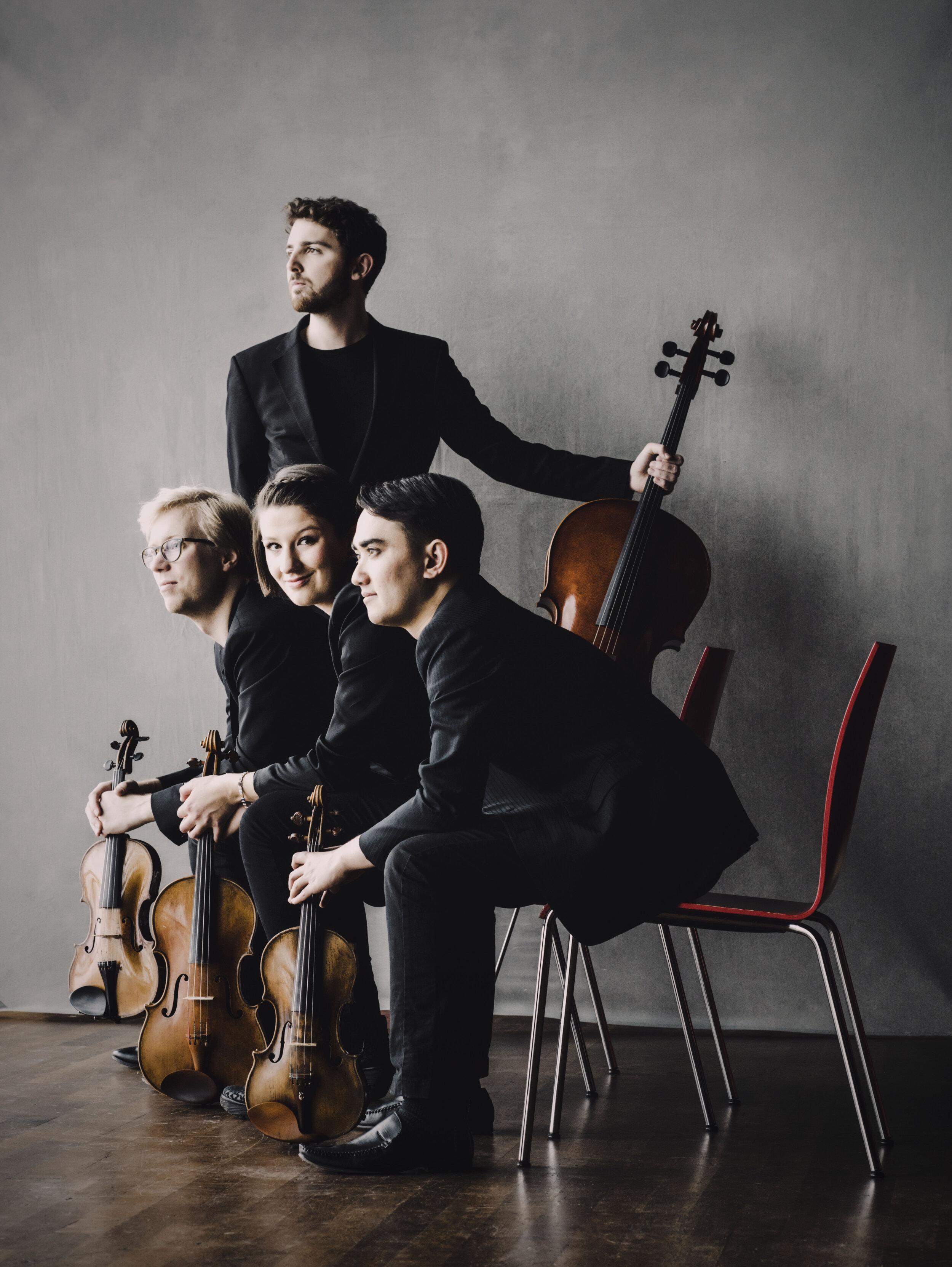 Marmen Quartet, Photo credit: MarcoBorggreve
