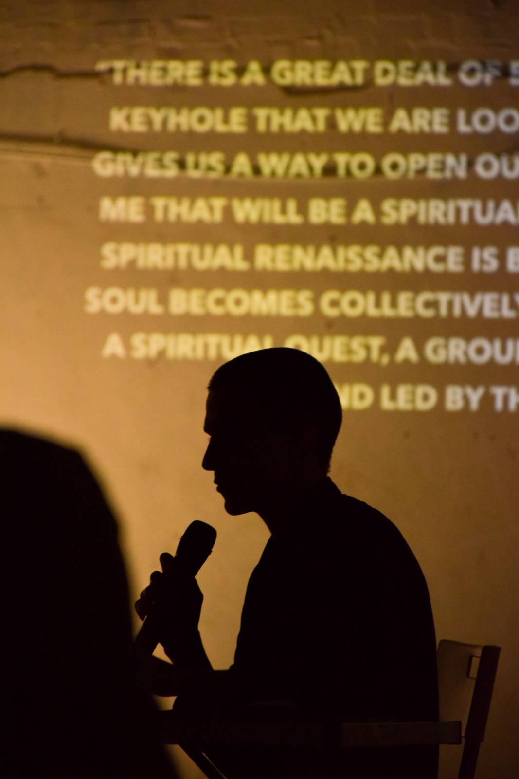 Artist Jose Montemayor shares the experience about his Virtual Awakening project