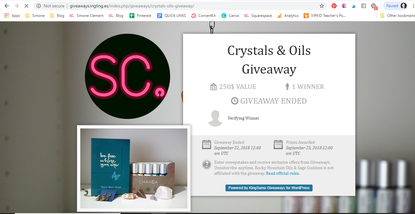 Grow Your Email List with Giveaways & How to Set Up a