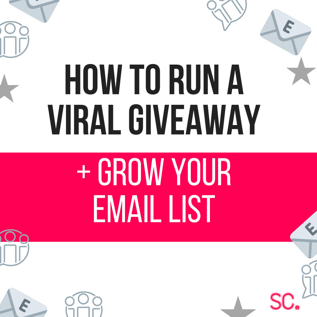 how to run a viral giveaway grow your email list giveaways how to create a giveaway how to set up a giveaway kingsumo viral giveaway