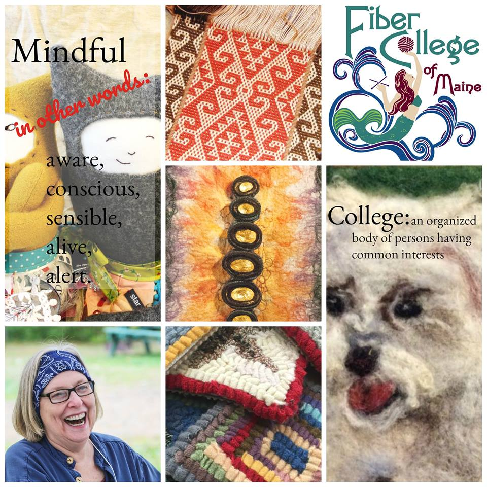 Have you signed up for classes yet? FIBER COLLEGE 2018 is September 5th thru 9th. Our registration numbers are picking up AND NOW IS THE TIME to secure your spot in those classes you've been dreaming about! Go to  www.fibercollege.org  to sign up soon.
