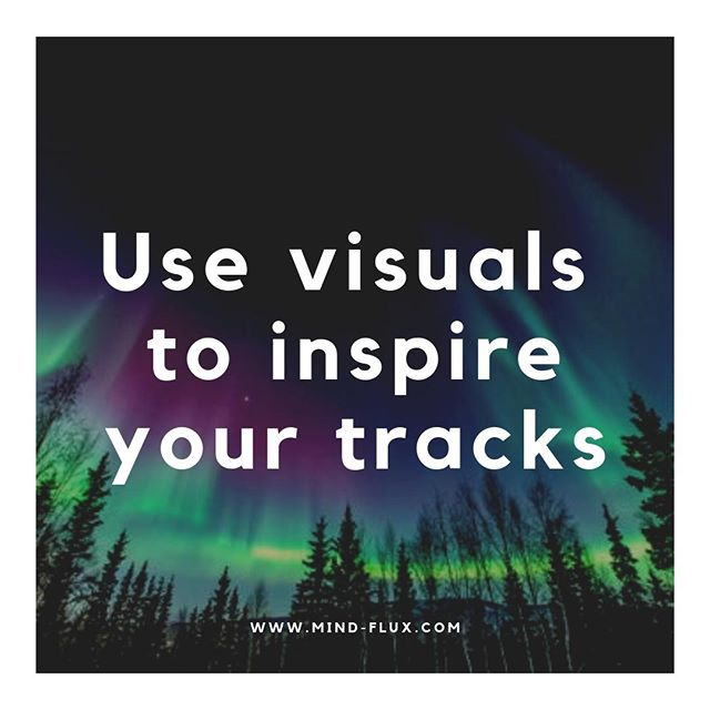 When you are finding it hard to be inspired, why not try using visuals to kick that spark into life.  #techno #musicproduction #techhouse #house #ableton