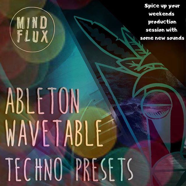 Why not spend the weekend creating your next techno tune. And if your in need of some inspiration why not download our Ableton Wavetable Techno Presets.  Click the link in the bio to go to our site.  #techno #ableton #wavetable