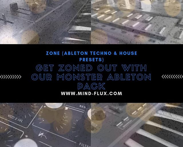 Are you looking for the sound of your fav classic synths with a modern twist?  Well, we at Mind Flux, have meticulously sampled our gear and reworked them using Ableton's unique sculpting tools to give you a range of epic sounds  Click here to download    http://bit.ly/zoneableton