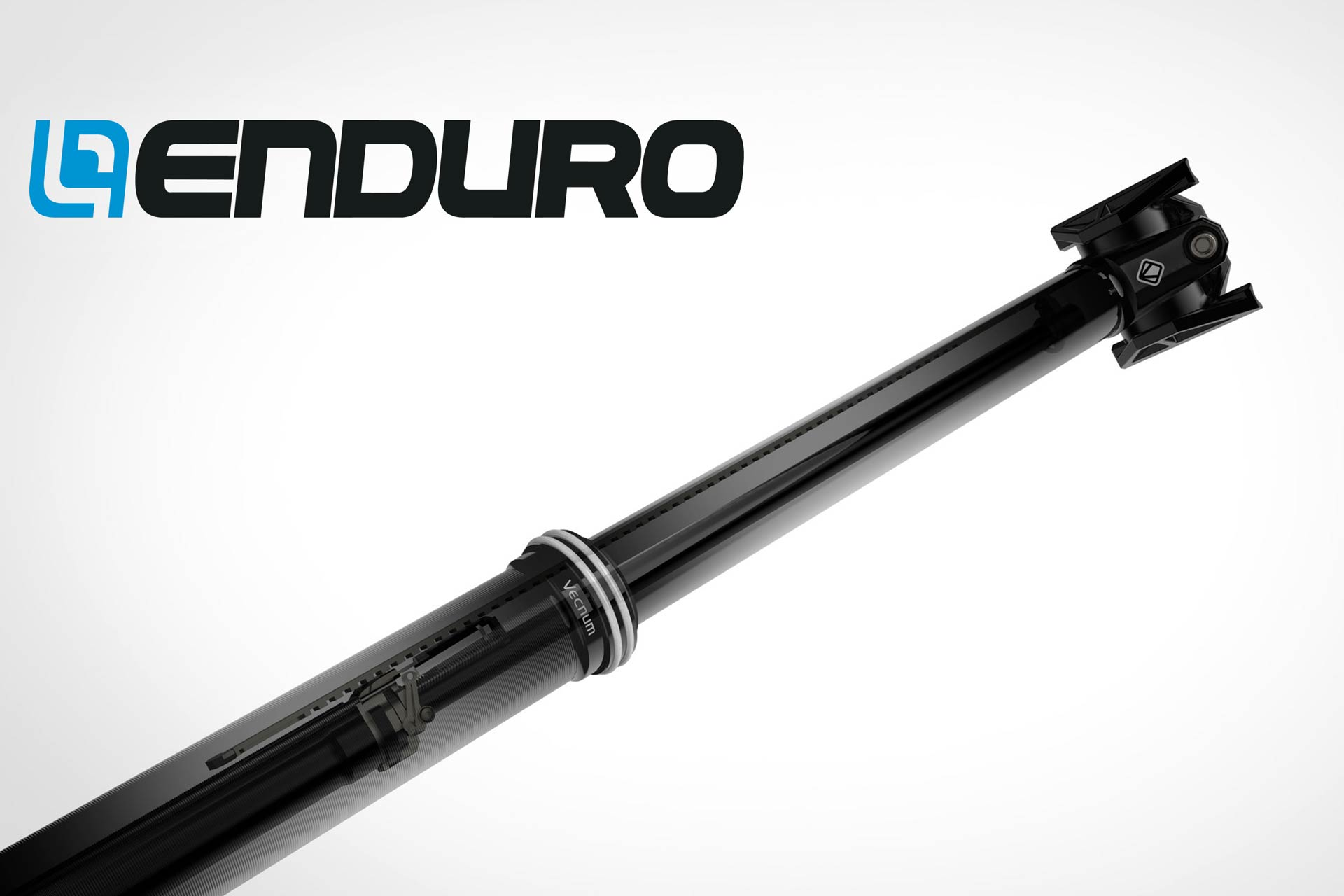 The brandnew Vecnum NIVO dropper post. reviewed by the ENDURO Mountainbike Magazine