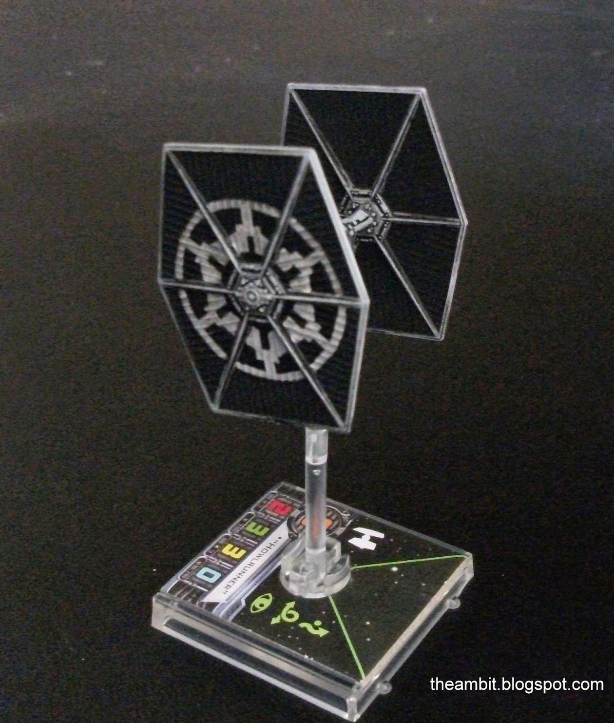 Blogger - TheAmbit - Tie Fighter Repaint