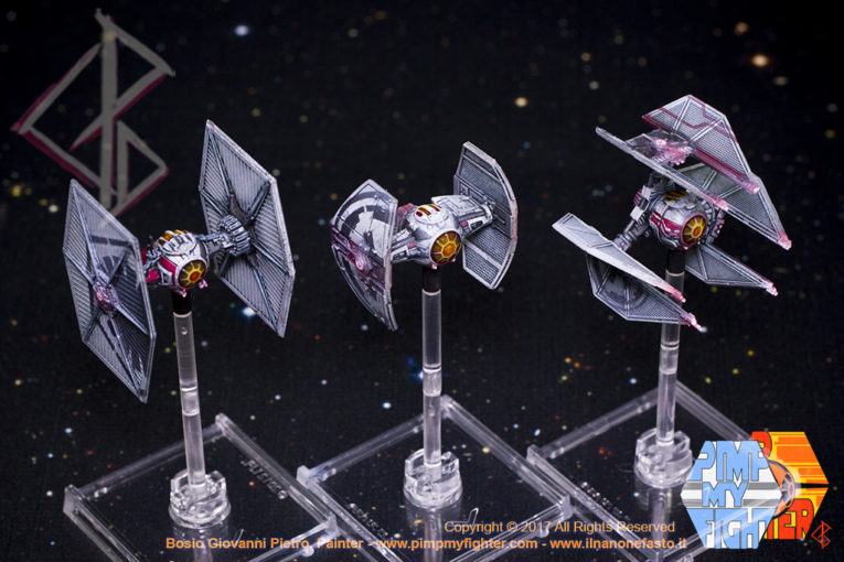 PimpMyFighter - Repainted X-Wing Tie Fighter