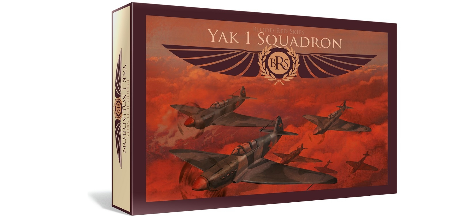 Warlord Games - Blood Red Skies - Soviet Yak 1 Squadron