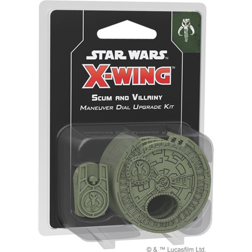 X-Wing - Scum and Villainy - Scum and Villainy - Maneuver Dial Upgrade Kit