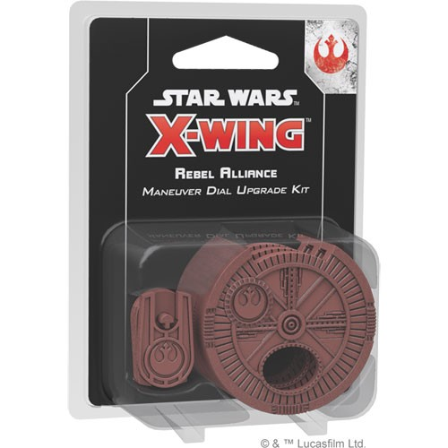X-Wing - Rebel Forces - Rebel Alliance Maneuver Dial Upgrade Kit