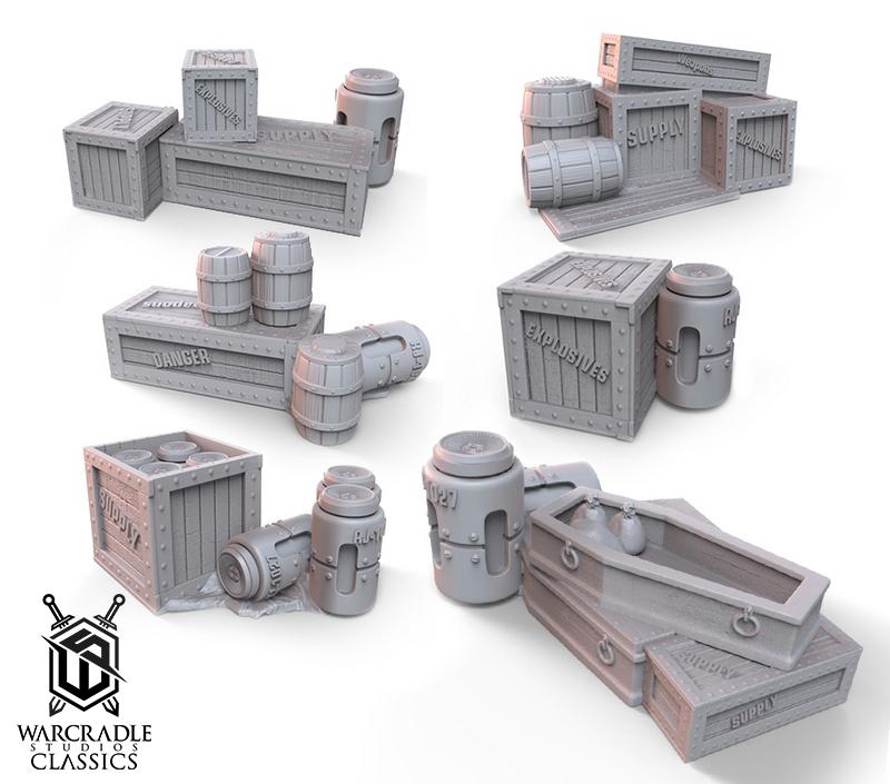 Barricade Terrain Set I