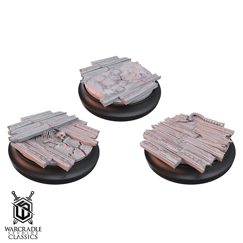 Red Oak Medium Base Toppers