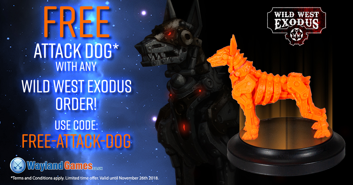 Black Friday Deals - Free Wild West Exodus Attack Dog