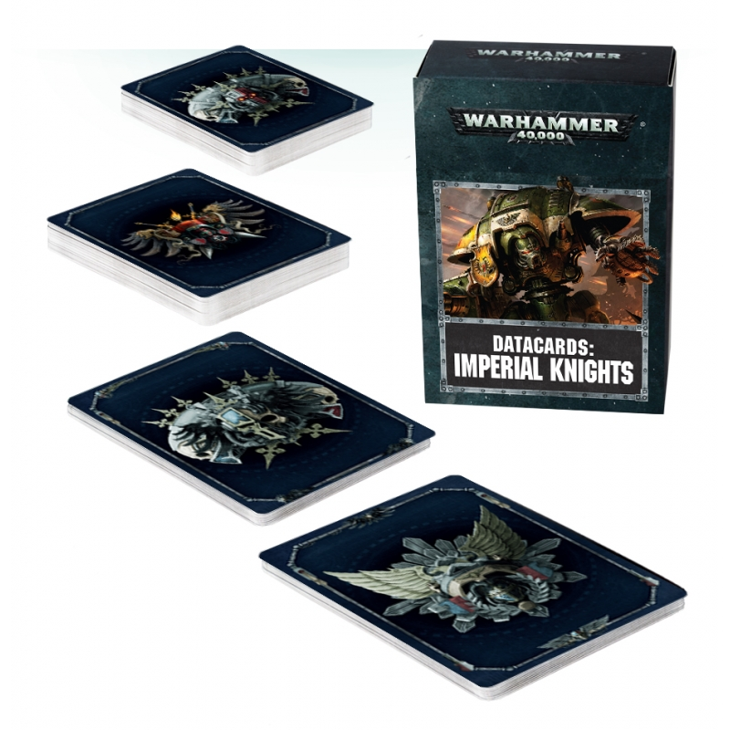 Warhammer 40,000 - Imperial Knights - Datacards: Imperial Knights - English
