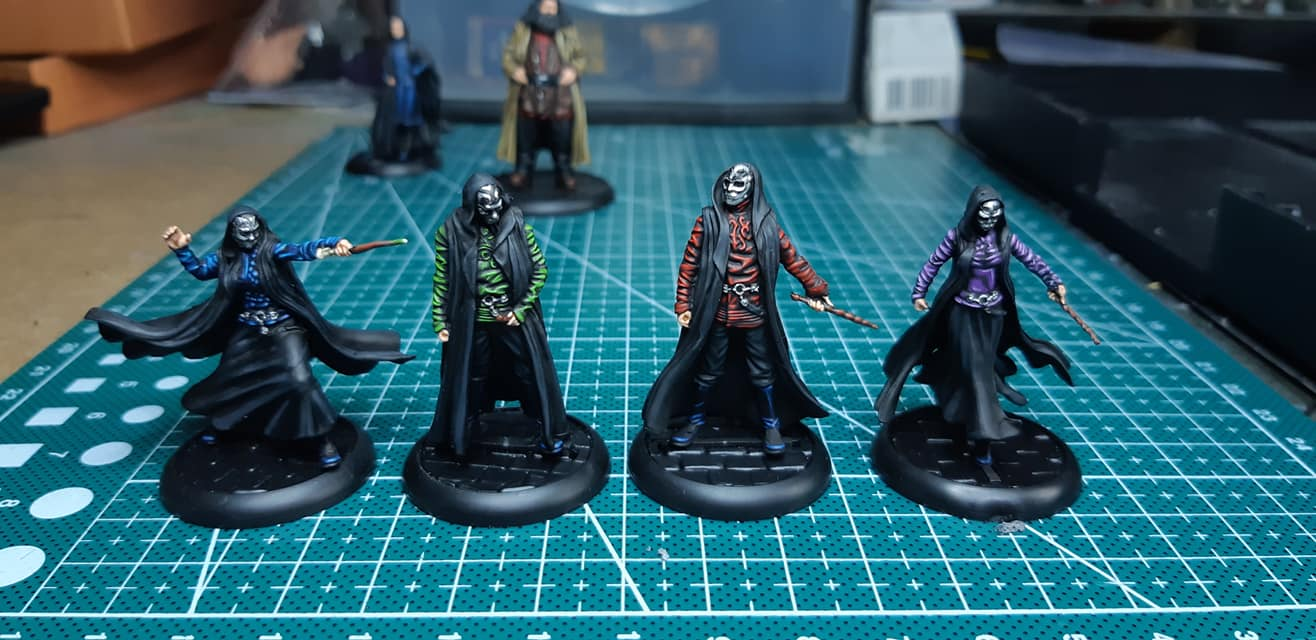 Death Eaters - Discordia Painting