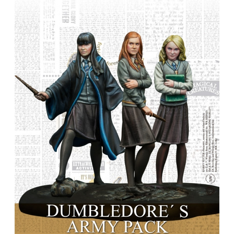 Harry Potter Miniatures Game - Dumbledore's Army Pack