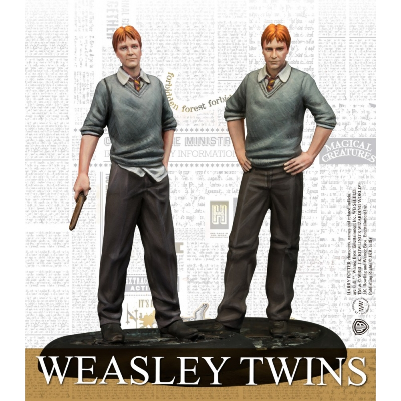 Harry Potter Miniatures Game - Weasley Twins