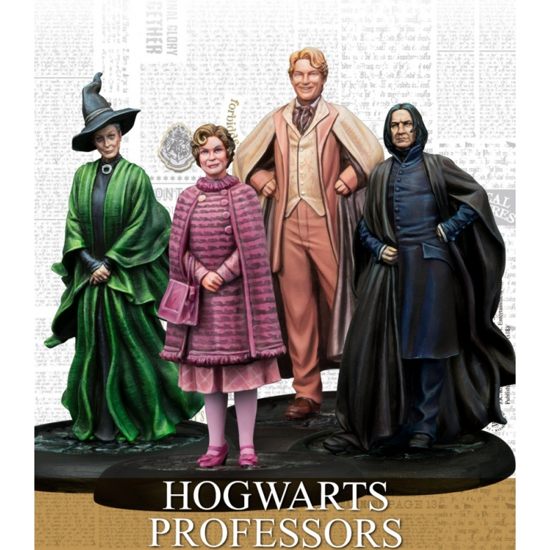 Harry Potter Miniatures Game - Hogwarts Professors