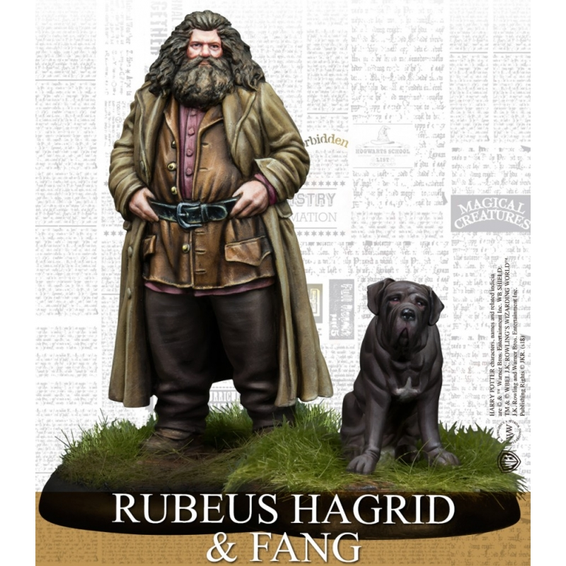 Harry Potter Miniatures Game - Rubeus Hagrid and Fang