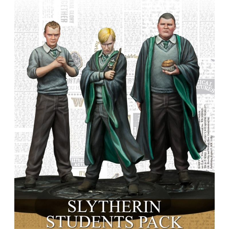 Harry Potter Miniatures Game - Slytherin Students Pack