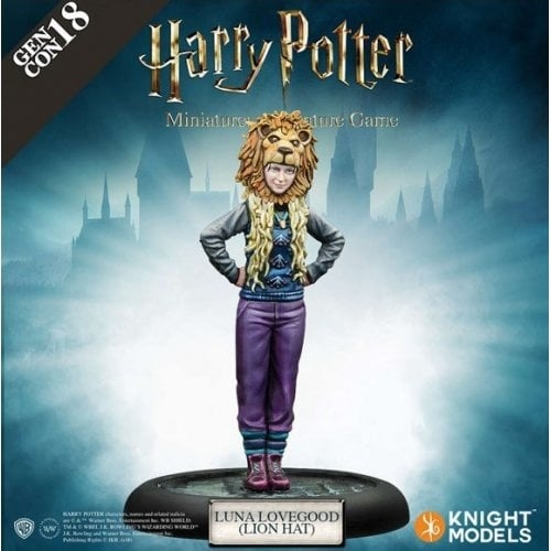 Harry Potter Miniatures Game - Luna Lovegood Lionhat