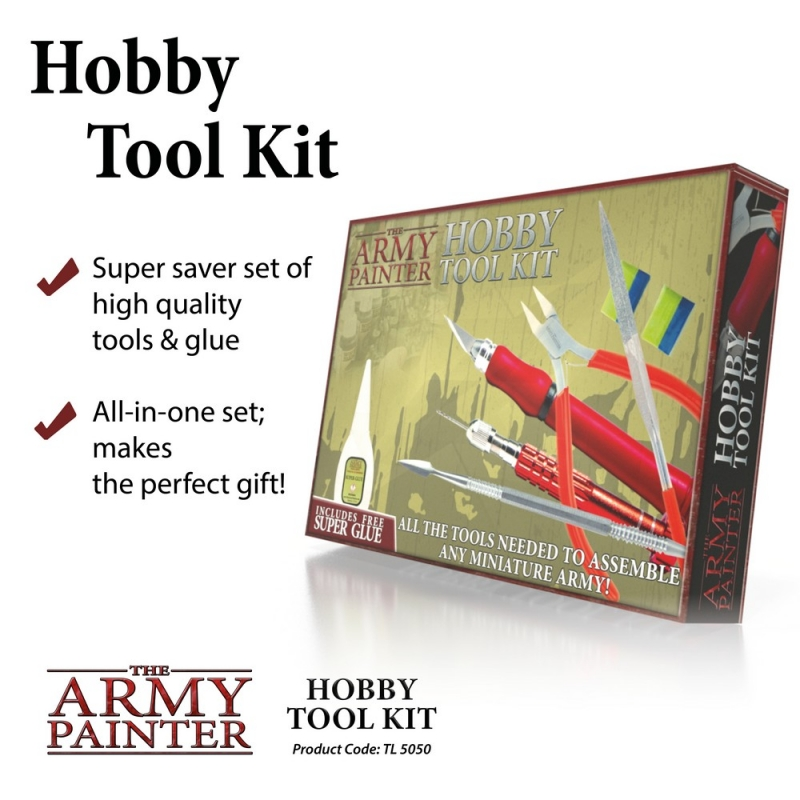 Harry Potter Miniatures - Army Painter Tools - Hobby Tool Kit