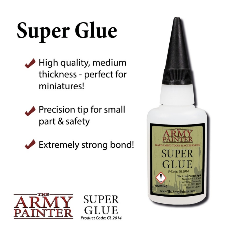 Harry Potter Miniatures - Army Painter Glues and Paint Sets - Super Glue