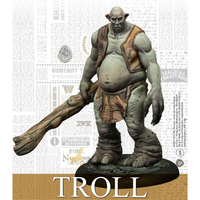 Troll Adventure Pack - Harry Potter Miniatures