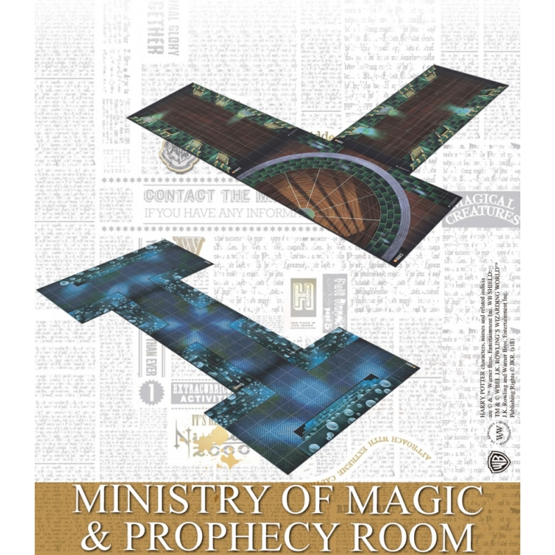 Ministry of Magic Adventure Pack - Harry Potter Miniatures