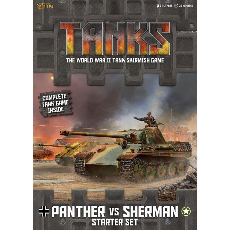 Tanks Starter Set Panther vs Sherman