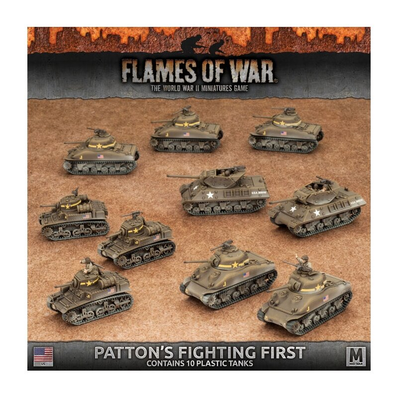 Flames of War Patton's Fighting First