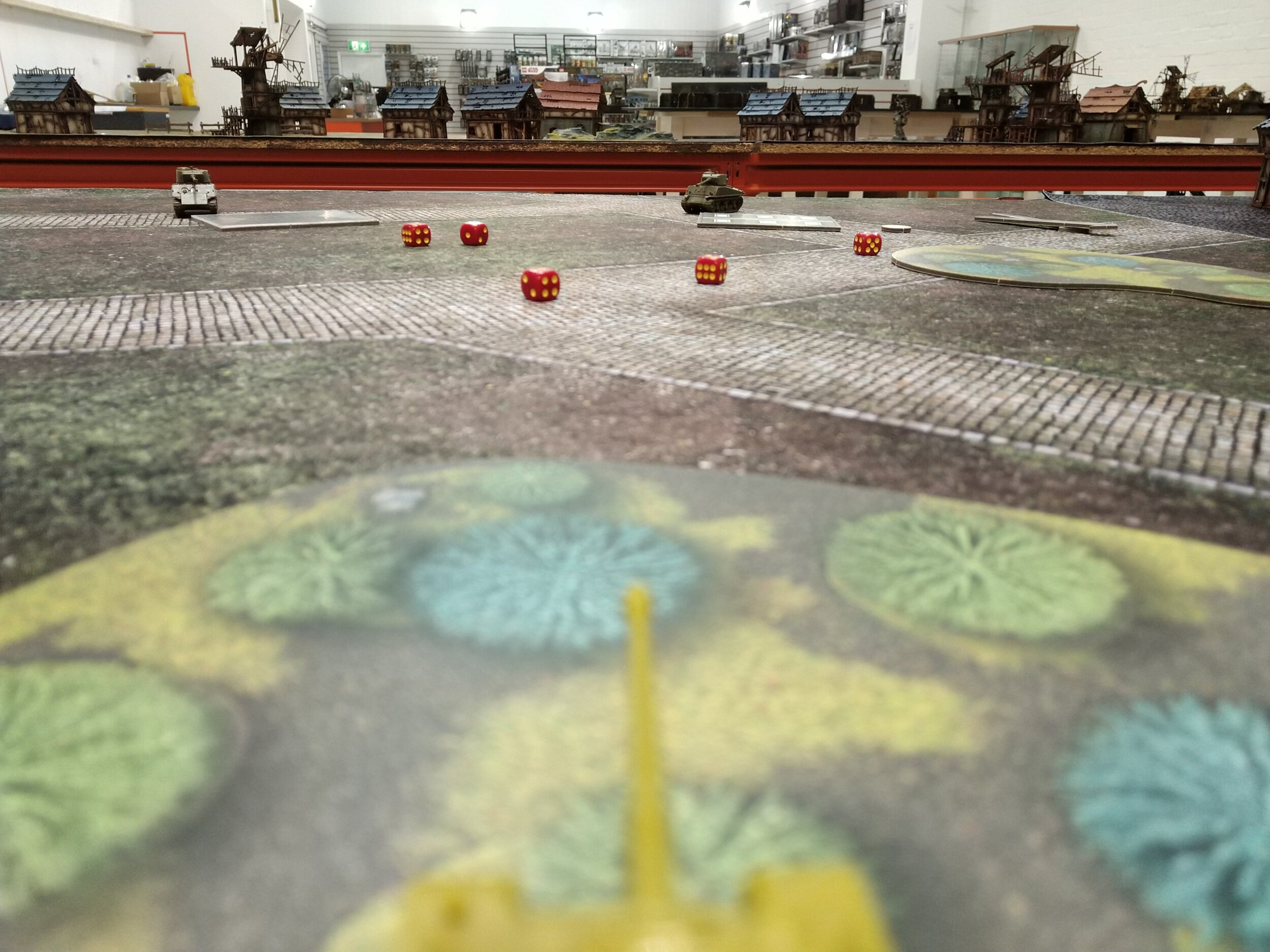Tanks tabletop miniature game