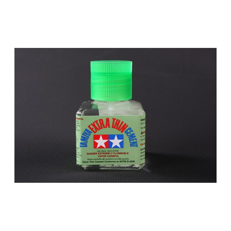 Tanks Glue- Tamiya Extra Thin Cement 40ml
