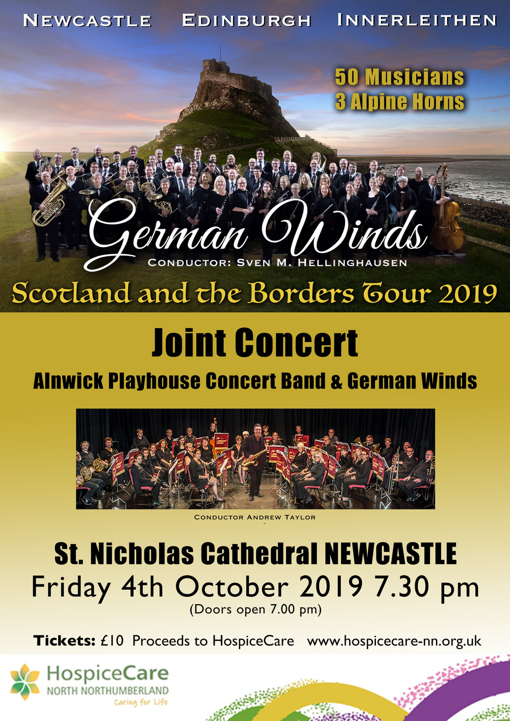 German Winds and Alnwick Playhouse Concert Band