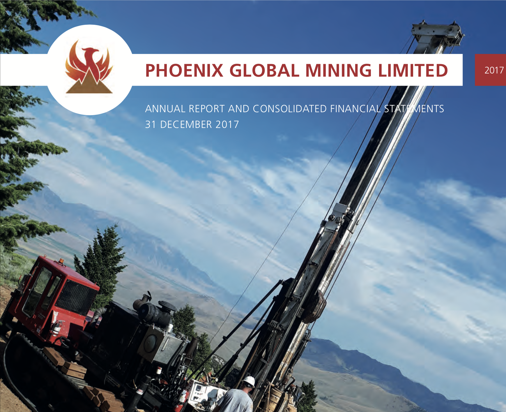Phoenix Global Mining - 17 May 2018Annual Report and Consolidated Financial Statements 31 December 2017