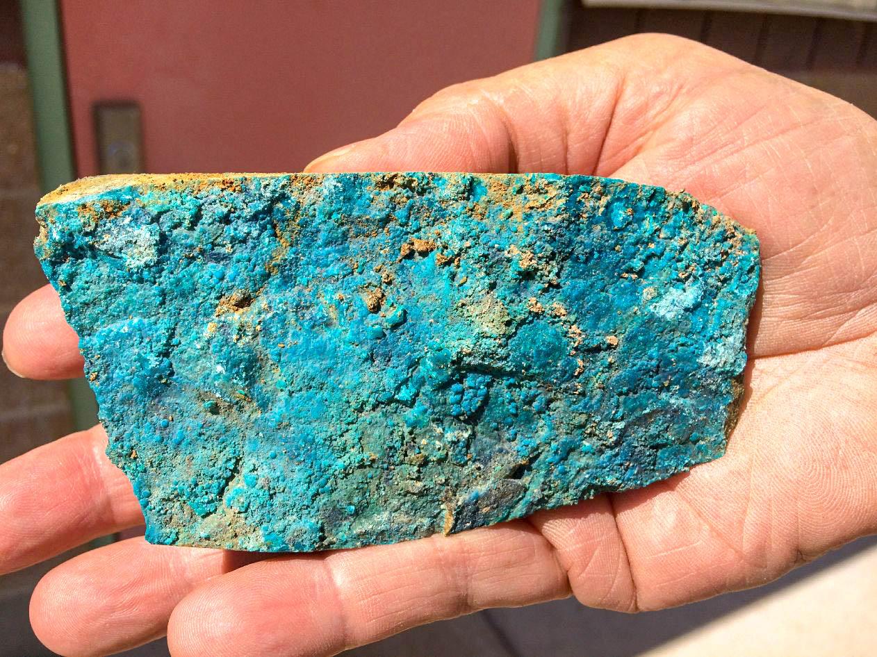 Copper oxide diamond drill core 2018